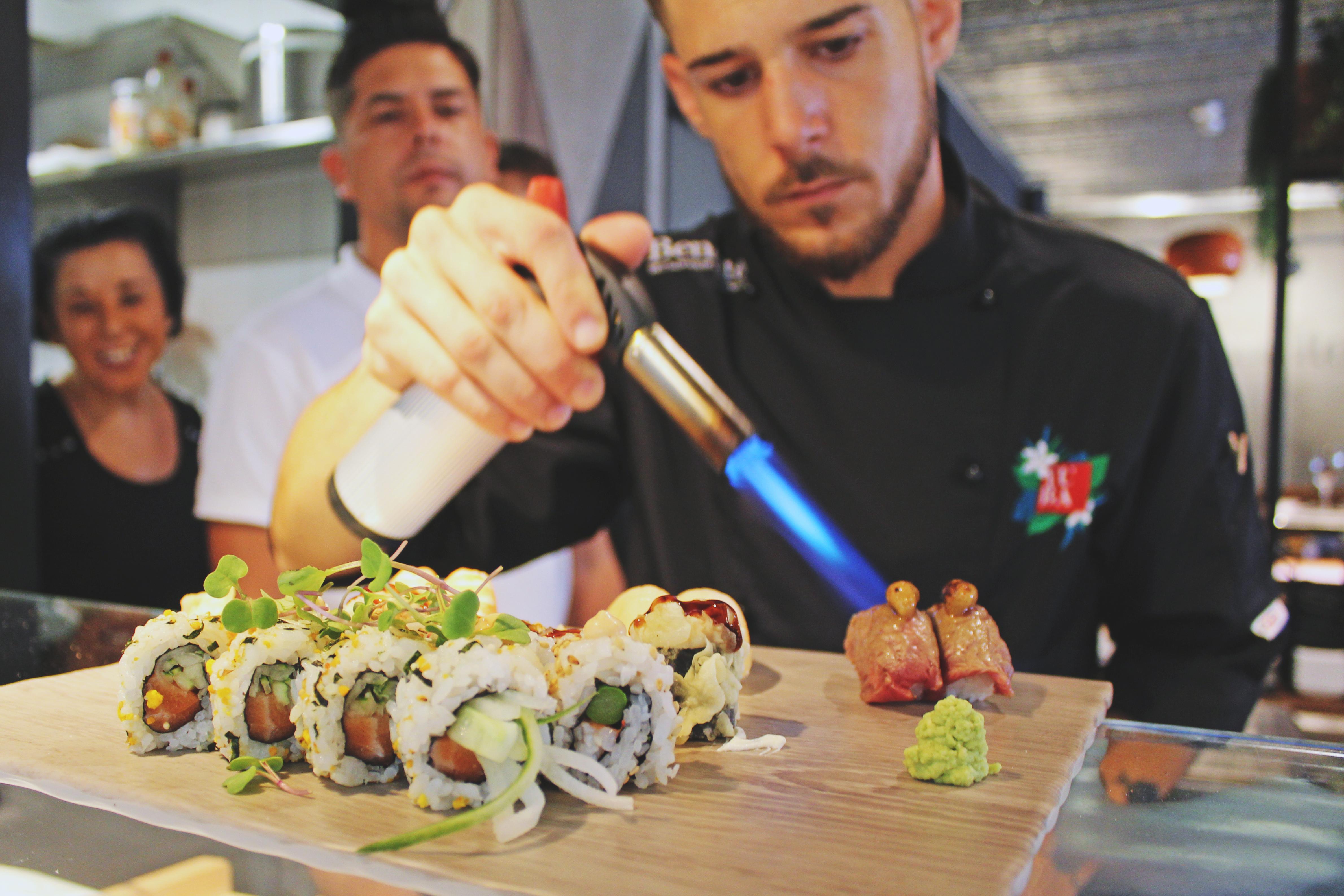Cocina de vanguardia en Málaga Premium Hotel