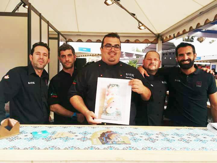 El equipo de Batik en el Málaga Gastronomy Festival