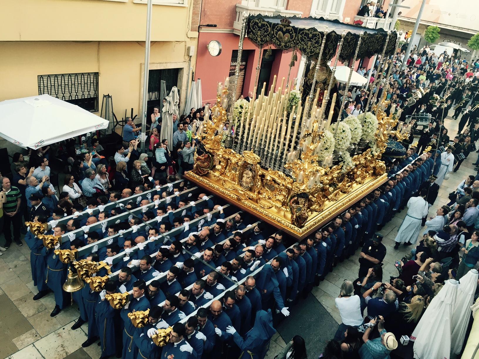 Vistas privilegiadas de la Semana Santa desde las terrazas de APH