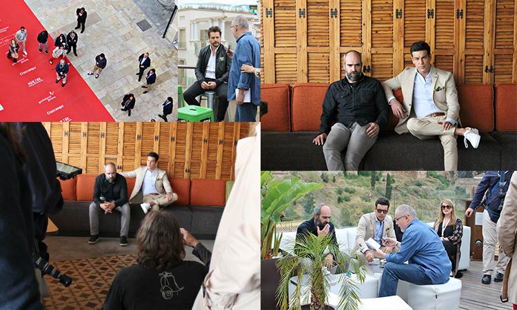 Mario Casas, Luis Tosar y Kike Maíllo en Alcazaba Premium Hostel