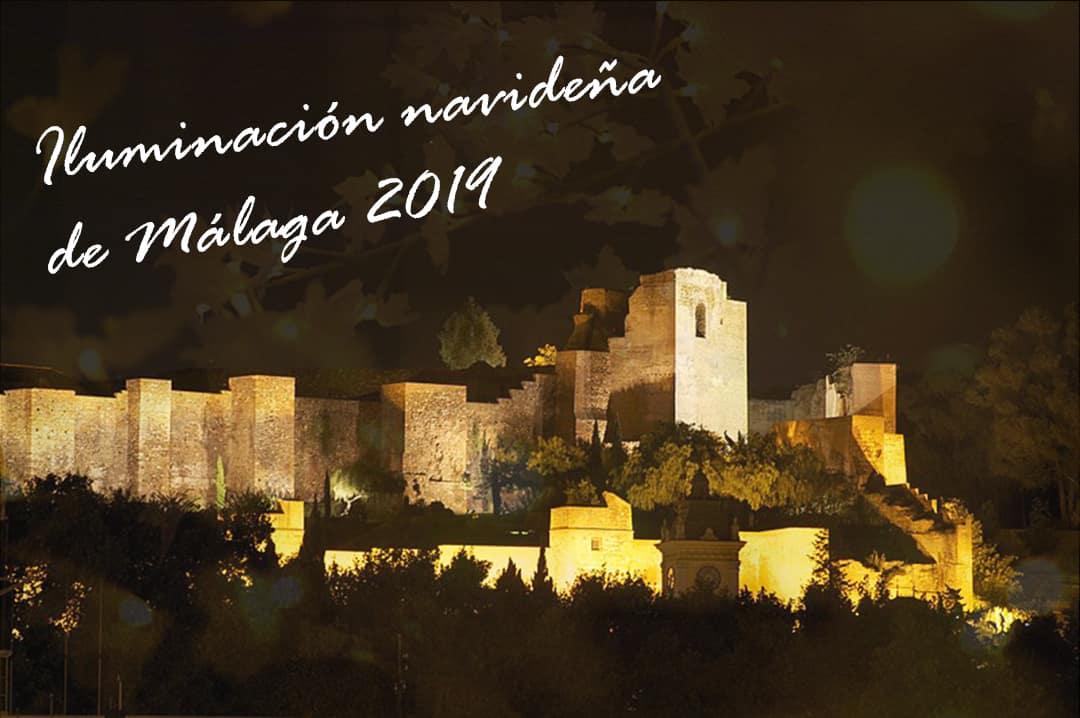 Luces de Navidad en Málaga 2019