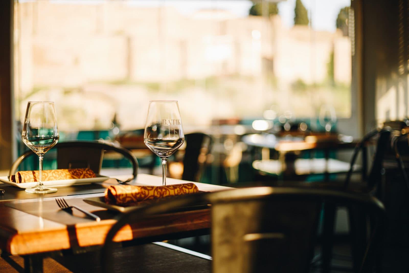Ven a Restaurante Batik en pleno centro de Málaga